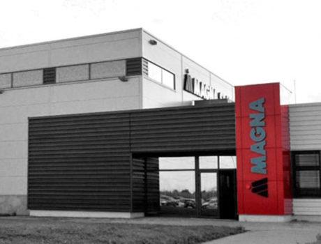 Komplexní dodávky IT pro závody Magna